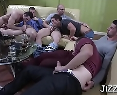 Serious anal group sex on livecam