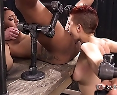 Two slaves back to back vibed