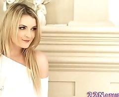 Gorgeous blonde rides