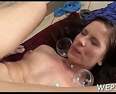 Pair adores sexy pissing