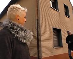 DEUTSCHLAND REPORT - Mature German blonde delights in hardcore pickup and fuck