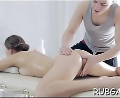 Adult massage clip scene