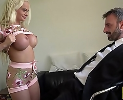 Brit MILF eaten up and fucked roughly by big dick dom