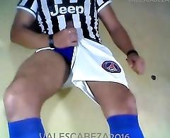 ValesCabeza070 Erect soccer 3 ORGASM futbolista Erecto 3 Punheta Orgasmo
