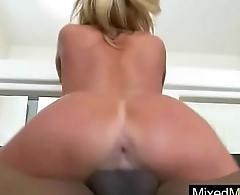 Sexy Horny Sluty Milf (zoey holiday) Enjoy Mamba Black Cock In Her Holes vid-19