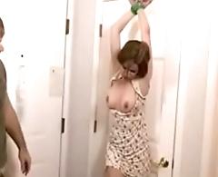 Guy punishing his wife for drinking www.punish-xxx.com