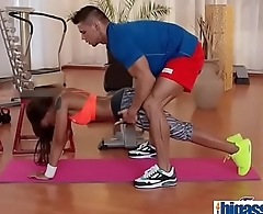 Gym cock for black bubble butt Milf(Lola Marie) 02 vid-05