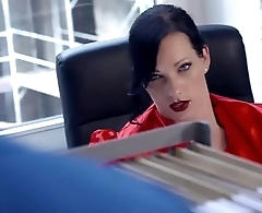 BUMS BUERO - Busty German secretary banged by say no to colleague here hot office sex