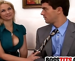 Dominate blonde Sarah Vandella gets dicked