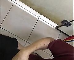 Old man public toilet suck cock and cum