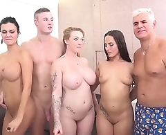 Jasmin Jae, Mea Melone and Go together Reigns in an orgy
