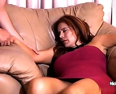 Juicy mature redhead is having a confound while she sleeping