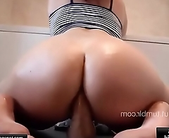 Anal Dildo - Broad in the beam Ass - [03]
