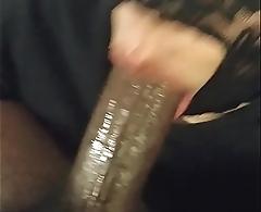 sucking my straight friend'_s big black blarney