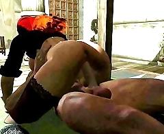 Shemale Mira Fucks the Jarl in Skyrim 3D Futa Porn