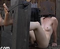 Chick is suffering pain pleasures
