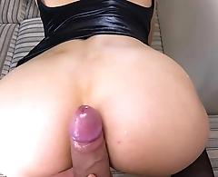 Hot Teen Doggystyle Sex POV - Kriss Kiss