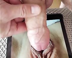 Freddyking25 Large Venus Lips Cumshot Trubute Big Labia Pussy