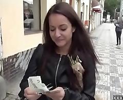 Public Fuck With Amateur European Slut For A few Dollars 17