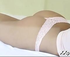 Sleazy body caressing voyer