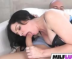 Sexy MILF Natalie Lovenz Got Be full