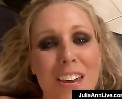 Gung-ho Hot Milf Julia Ann Gets Doggy &amp_ Boob Fucked By A Cock