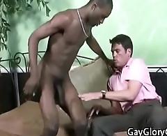 Gloryholes And Gay Handjobs - Interracial Nasty Hardcore Porn Video 19