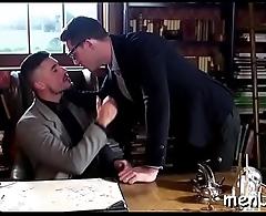 Anal job with brawny gays