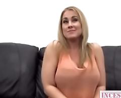 Blonde MILF with big-tits fucks like expert - more in incestx.com