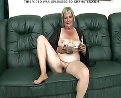 70 yo Affluent Granny With Big Ass And Hairy Pussy by CyberNOOB - Pumhot.com