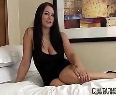 Eating cum is your secret fetish isnt it CEI
