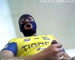 ValesCabeza078 SOCCER CAM CUMSHOT futbolista caliente deslecha en la cam