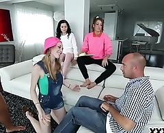 The Babysitters Club Sharing A Dick