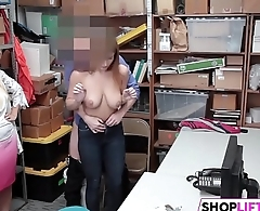 Busty Teen Suspect Promptly Admitted To Theft