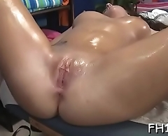 Cheerful ending massage