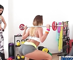 Sweet young lesbian fitness girl(Lady Dee &amp_ Vanessa Decker) 01 mov-14